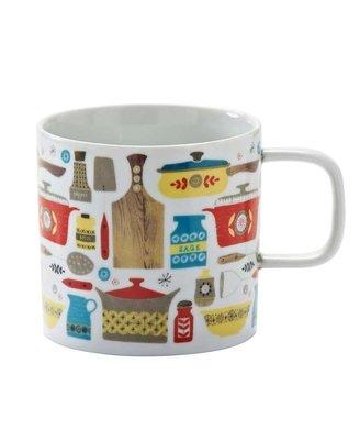 英國Typhoon北歐家庭道具設計馬克杯(鍋碗系列)-現貨免運