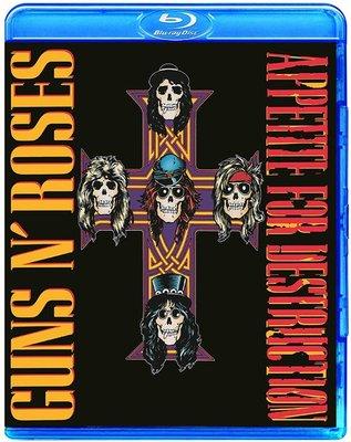 高清藍光碟 Guns N' Roses Appetite For Destruction (藍光BD25G)