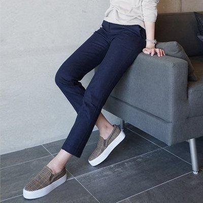 時尚挺闊有型 好質感小直筒鉛筆褲九分西裝褲 艾爾莎【TAE8011】