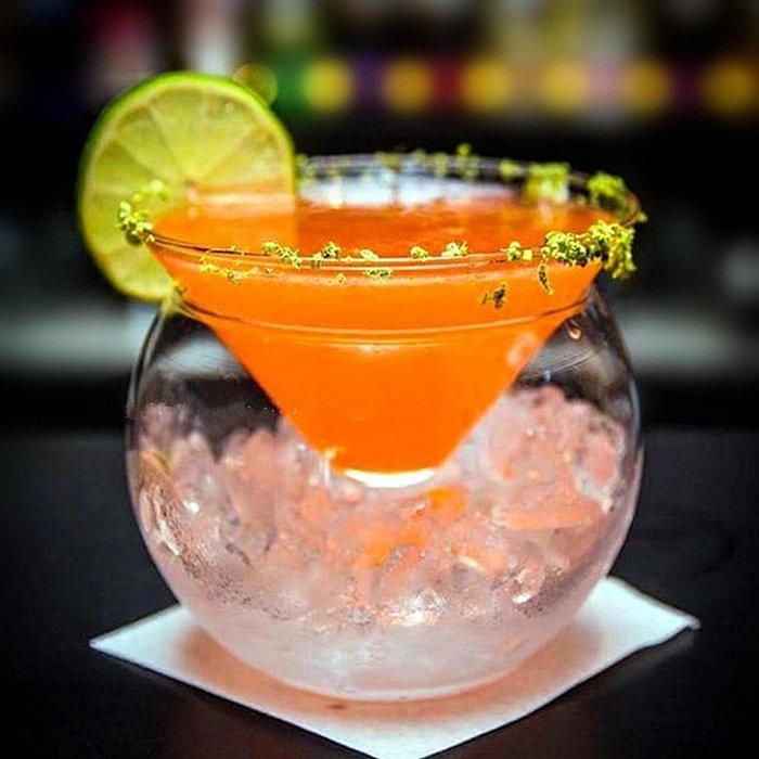 聚吉小屋 #美式馬天尼杯分子杯三角雞尾酒杯 創意分子料理玻璃碗 意境菜盛器