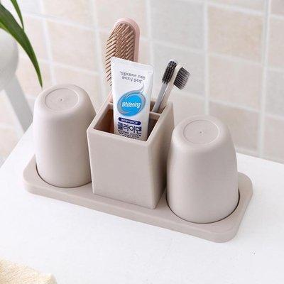 牙刷架子衛生間免打孔牙具座 黛尼时尚精品