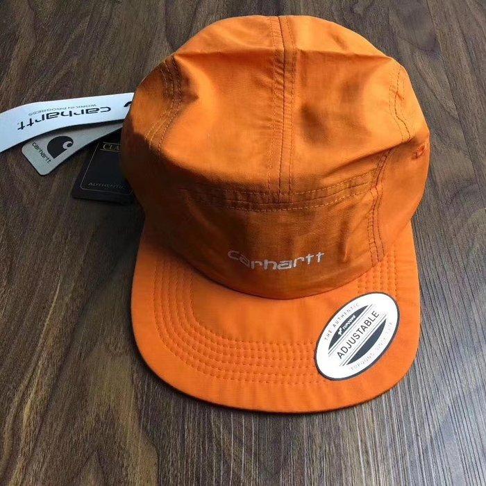 美國潮牌carhartt正品新款adjustable camp cap 防水露營休閑扁帽鴨舌帽子