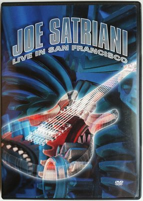 2DVD/ Joe Satriani - Live In San Francisco 二手美版