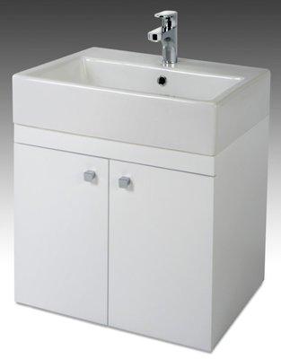 [勞倫斯衛浴生活商場]TO-711E烤漆浴櫃-寬59CM(合TOTO-LW711RCB面盆)(價格不含盆) 專業淋浴拉門