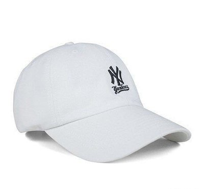 GOSPEL【MLB 】洋基隊 白 刺繡 老帽 5762004-800
