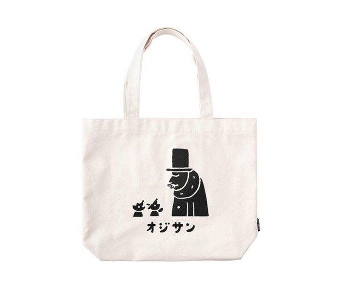 天使熊雜貨小舖~日本midori OJISAN 25周年限定款帆布托特包 (L) 全新現貨