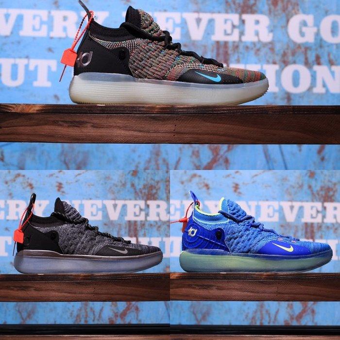 Nike Zoom KD11 EP 杜蘭特11代 編織 彩虹 實戰籃球鞋 AO2605-001