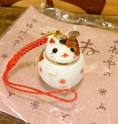日本道樂堂貓舍本鋪貓咪手機吊飾:日本 道樂堂 貓舍本鋪 貓咪 陶瓷 手機鏈 吊飾 3C周邊 設計 收藏 禮品