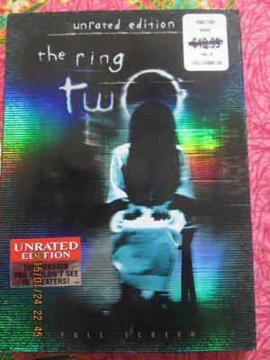 進口DVD~七夜怪談西洋篇續集(The Ring Two) 電影.如圖示
