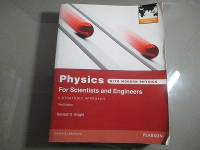 免運費 2013 《PHYSICS FOR SCIENTISTS & ENGINEERS 3/e》9780321824080
