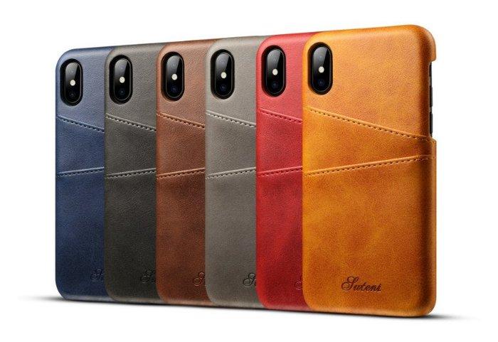 可插卡手機保護殼 Iphone X XS Max XR Mate 20 Pro Note9 皮質手機殼 保護套 皮套