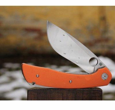Spyderco Nati Amor Subvert Folding Knife 4.14吋 S30V鋼折刀, 橘色G10柄- C239GPOR