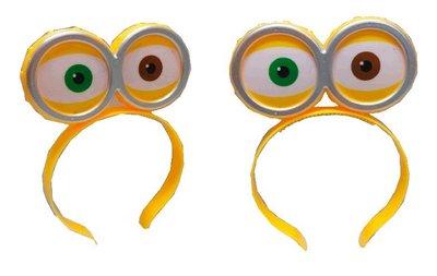 佳佳玩具 ----- 小小兵 小黃人 發亮 髮箍 頭箍 配件 眼睛 燈籠 元宵【YF12055】