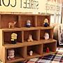 優良鋪子-實木復古抽屜式創意小柜子九宮格化妝品收納盒展示架置物架壁掛式(規格不同 價格不同)