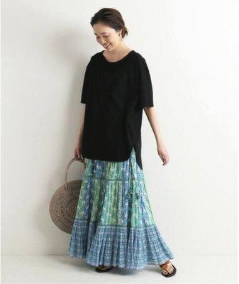 日本購回 SARA MALLIKA FLOWER PRINT GATHER 印花流蘇長裙