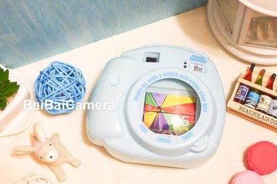 BaiBaiCamera 藍-拍立得造型月曆 另售 MINI 8日本原裝主機 mini8 拍立得 底片 8s 25S 50S 90 不打烊