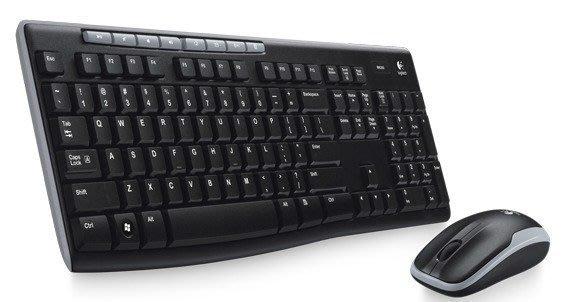 【鳥鵬電腦】Logitech 羅技 MK260r 無線滑鼠鍵盤組 八個熱鍵 雙手適用的光學滑鼠 防濺灑鍵盤