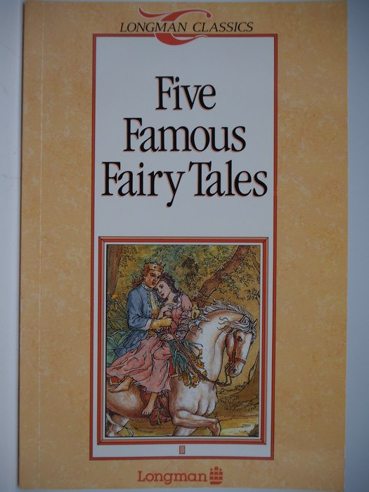 【月界二手書】Five Famous Fairy Tales_Michael West_Longman〖語言學習〗CIL