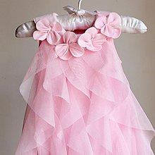 ~幸福家園~夏季女寶寶嬰兒連體衣裙~碎花軟紗周歲百日禮服公主裙~童裝裙