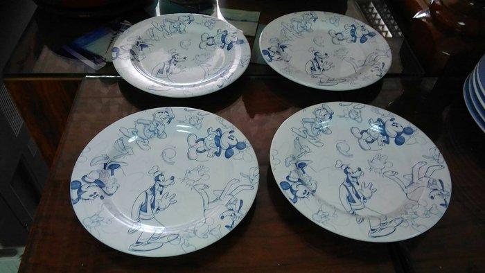 美國迪士尼 經典碗盤組 4件一組販售 現貨