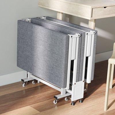 折疊床GENUS 辦公室折疊床午休單人床便攜四折午睡神器家用簡易硬板陪護