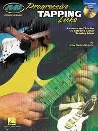 [反拍樂器]Progressive Tapping Licks 進口吉他教材