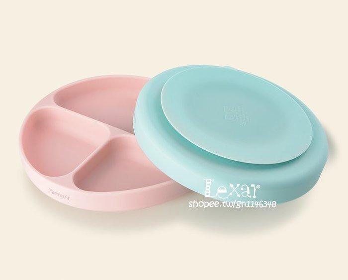 英國Douxbebe寶寶餐盤吸盤碗嬰兒矽膠餐具兒童餐盤分格嬰兒輔食碗