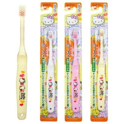 #悠西將# {現貨} 日本EBISU Hello Kitty 0.5~6歲兒童牙刷 KITTY牙刷 凱蒂貓 幼兒牙刷