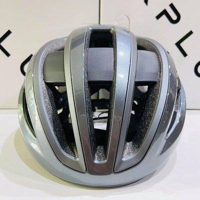 【皇小立】KPLUS NOVA 磁吸式安全帽 灰 自行車安全帽 / KASK MONTON POC OGK GIRO