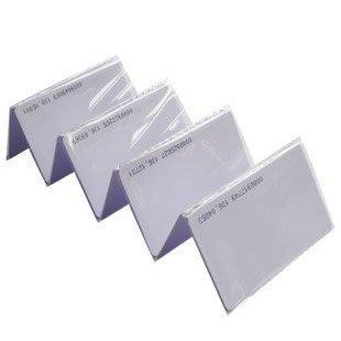 【玩具貓窩】薄型 125kHz ID卡白卡RFID感應卡(卡號不可複製) 門禁 出勤 會員卡