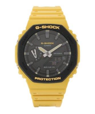 佐敦門市 現貨 100% 全新 Casio G-Shock GA-2110SU-9A 農家橡樹 Casioak yellow 黃色 熱賣 人氣 一年保養