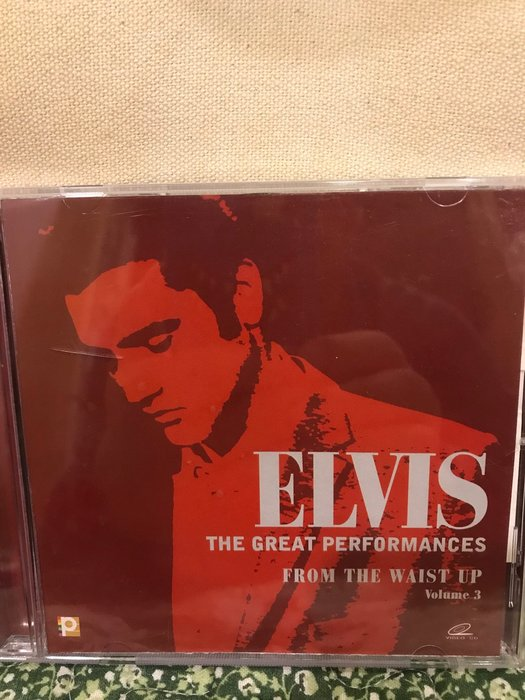 Elvis Presley 珍愛現場全紀錄 - From the waist up 3 (VCD)