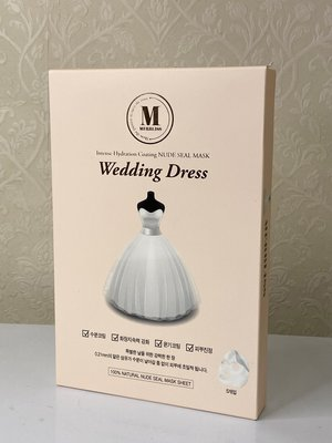 韓國 MERBLISS~Wedding Dress婚紗面膜(25gx5片入) 新北市