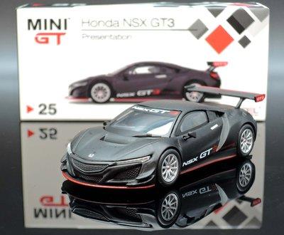 【M.A.S.H】現貨特價 Mini GT 1/64 Honda NSX GT3 Presentation