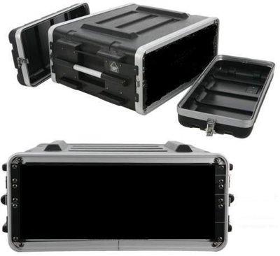 【音響倉庫】SPT ABS雙門行動機櫃4U 瑞克箱 航空箱 機櫃 塑鋼箱