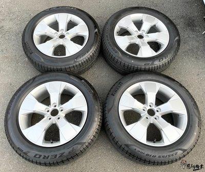 二手/新車落地鋁圈輪胎 原廠 volvo xc40 18吋 5孔108 銀 含胎 倍耐力 235/55-18 KUGA
