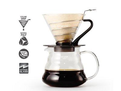 爵仕德專業咖啡器材-BEAN PLUS My drip 質感手沖組 螺旋濾器