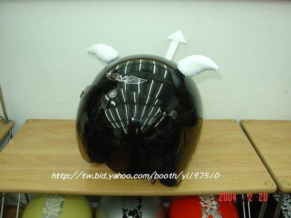 ((( 外貌協會 ))) (配件區)任何安全帽都可以裝的超炫惡魔角....