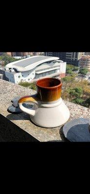 早期 陶 茶海  花瓶  水壺 咖啡壺 法蘭絨pottery tea pot coffee vase country