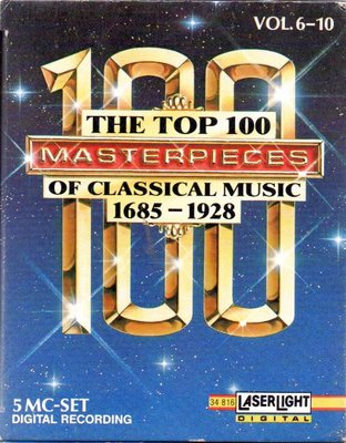The Top 100 Masterpieces of Classical Music 卡帶 全新 再生工場1 03