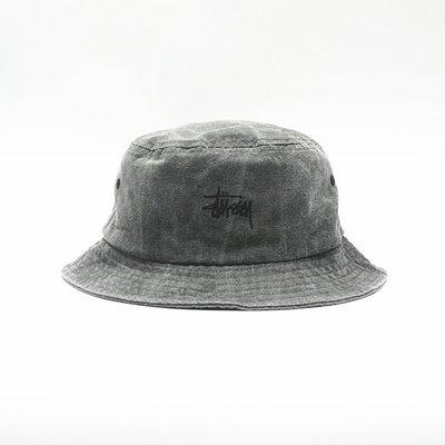 全新正品 Stussy Smooth Stock Enzyme Wash Bucket Hat 水洗 漁夫帽 紳士帽子