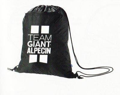 捷安特 Team GIANT Alpecin 車隊版紀念背袋 背包 拉繩束口袋 可收納至車衣口袋