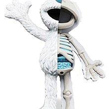 """全新現貨 Mighty Jaxx XXRAY 8.5"""" Sesame Street Elmo - White Eskimo Edition 半解芝麻街"""