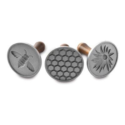 ﹝桔梗家居﹞Nordic Ware 三枚 蜜蜂系列餅乾印章 餅乾模型