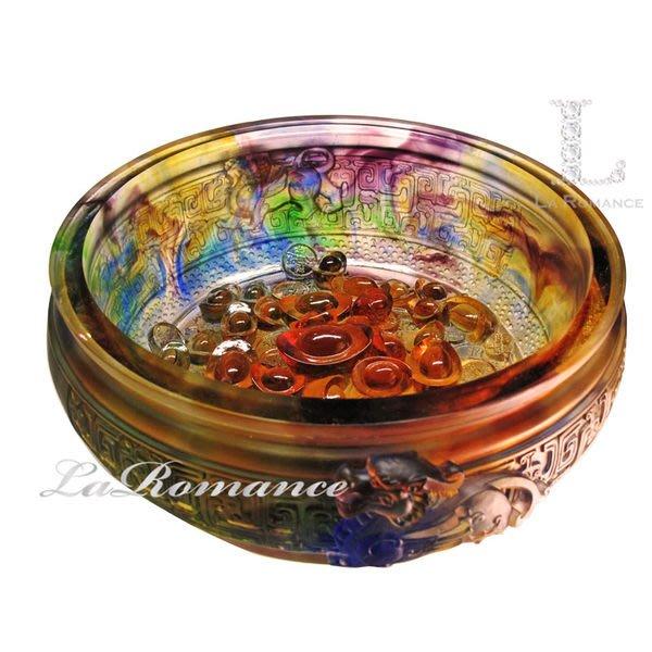 【芮洛蔓 La Romance】富貴琉璃 - 貔貅元寶聚寶盆
