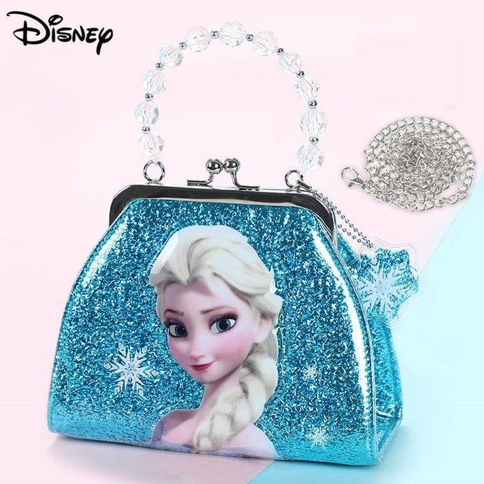 FuNFang_冰雪奇緣多款造型兒童手提包 背包 斜背包 迪士尼 艾沙公主