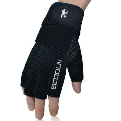 【綠色運動】運動手套 健身手套 加長護腕 防滑萊卡 器械鍛煉/訓練 舉重 啞鈴 半指/短指手套 戶外短途騎行-博