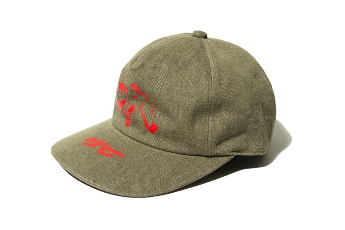"[ LAB Taipei ] PHINGERIN "" PROJECTION CAP "" (Olive)"
