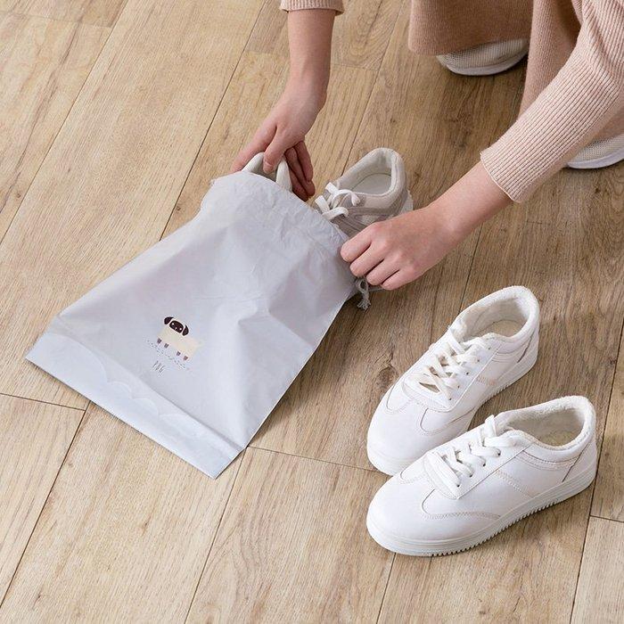 【可可里百貨】卡通印花束口袋抽繩袋套裝 旅行收納袋防水衣服袋子整理袋【買一送一】