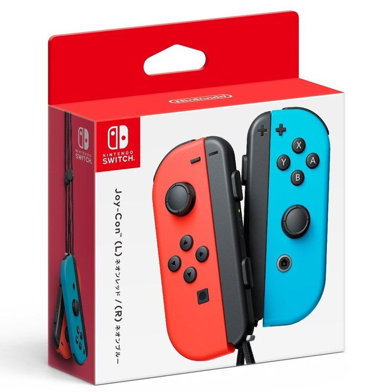 【歡樂少年】全新 (現貨) NS Switch 公司貨 紅藍手把 Joy-Con保固一年